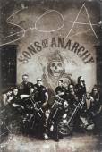 Tommy Flanagan Signed Sons Of Anarchy 36x24 Poster with 10 Characters