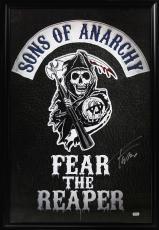 Tommy Flanagan Signed Sons Of Anarchy Fear The Reaper Framed Full Size Poster