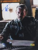 Tommy Flanagan Signed Sons Of Anarchy Sitting At Table 11x14 Photo