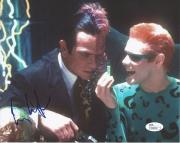 Tommy Lee Jones Signed 'batman Forever' Two Face 8x10 Autograph Jsa Coa