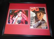 Tommy Lee Jones Signed Framed 16x20 GQ Cover & Photo Display JSA Two Face Batman