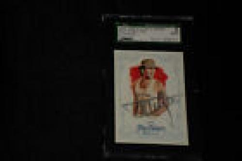 Tommy Lee Motley Crue 2013 Allen & Ginter's Signed Autographed Card #140 Sgc Coa