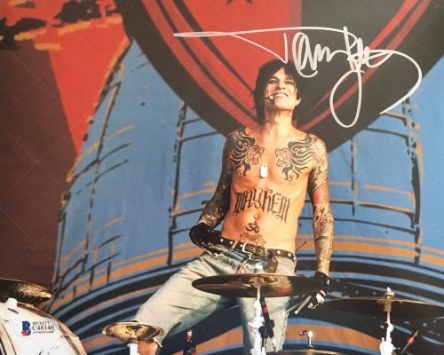 TOMMY LEE (Motley Crue) authentic autograph signed 8x10 photo- Beckett's C48146