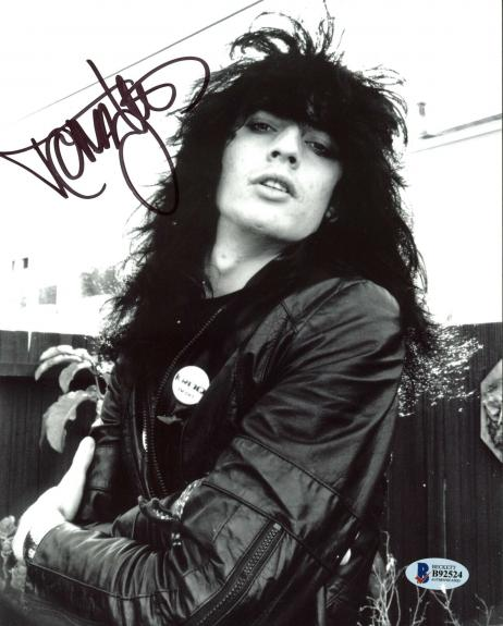 Tommy Lee Motley Crue Signed 8X10 Photo Autographed BAS #B92524