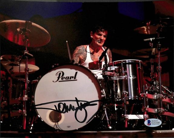 Tommy Lee Motley Crue Signed 8x10 Photo Autographed BAS #E35308