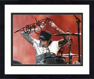 Tommy Lee Motley Crue Signed 8x10 Photo Autographed BAS #E44749
