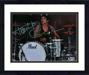 Tommy Lee Motley Crue Signed 8x10 Photo Autographed BAS #Q77069
