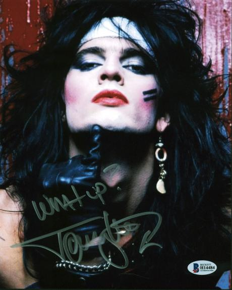 """Tommy Lee Motley Crue """"What Up?"""" Signed 8x10 Photo BAS #H14484"""