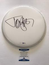 "Tommy Lee Signed Authentic 12"" Drum Head Motley Crue Bas Beckett Coa #b62795"