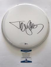 "Tommy Lee Signed Authentic 12"" Drum Head Motley Crue Bas Beckett Coa #b62796"