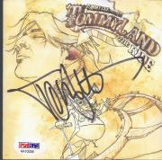 Tommy Lee Signed 'tommyland The Ride' Cd Cover Autograph Psa/dna Coa
