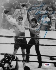Tommy Morrison Signed 8x10 Photo PSA/DNA Sylvester Stallone Rocky 5 Gunn Picture