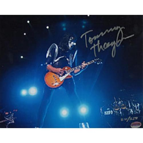 "Tommy Thayer Autographed ""KISS"" Celebrity 8x10 Photo No.23 of 250"