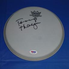 "Tommy Thayer Kiss Signed 8"" Remo Drum Head Autographed In Person Psa/dna Cert!!!"