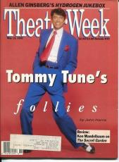 Tommy Tune Allen Ginsberg Philip Glass May 1991 Theater Week Magazine