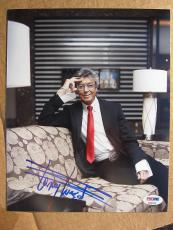 Tommy Tune Broadway Dancing signed 8x10 photo PSA/DNA autograph