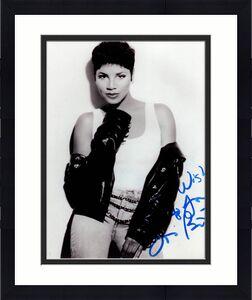 Toni Braxton Autographed Vintage Short Hair 80s Photo Uacc Rd Co Aftal