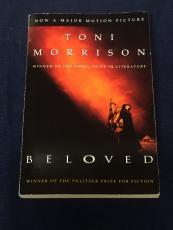 Toni Morrison Nobel & Pulitzer Prize Winner Rare Beloved Signed Autograph Book