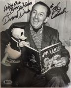 TONY ANSELMO Signed DONALD DUCK Disney 8x10 Photo BAS Beckett COA Proof Pic G