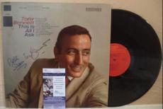 Tony Bennett And Ralph Sharon Signed Autograph Album This Is All I Ask Jsa S6284
