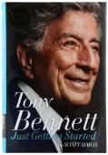 Tony Bennett Autographed Just Getting Started Book - BAS