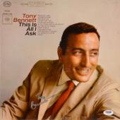 Tony Bennett Autographed This Is All I Ask Album Cover - PSA/DNA COA