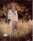 TONY BENNETT HAND SIGNED 8x10 COLOR PHOTO        AMAZING YOUNG POSE        JSA