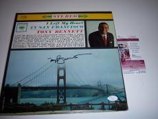 Tony Bennett I Left My Heart In Sanfranciso Jsa Signed Lp Record Album