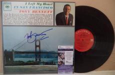 Tony Bennett I Left My Heart Signed Autographed Vinyl Lp Album Jsa S62847