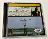 Tony Bennett Left My Heart In San Francisco Signed Autograph CD PSA/DNA COA (A)