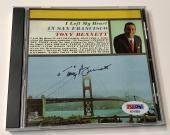 Tony Bennett Left My Heart In San Francisco Signed Autograph CD PSA/DNA COA (C)