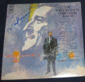 Tony Bennett Pop Jazz Legend Signed 68 Snowfall The Christmas Album Autographed