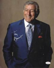 Autographed Tony Bennett Photo - Rags To Riches 11x14 JSA #G35458