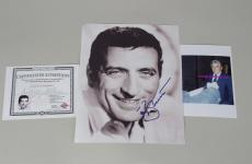 Autographed Tony Bennett Picture - 8×10 Color & Proof