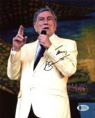 Tony Bennett Signed 8X10 Photo Autographed BAS #C19227