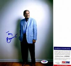 Tony Bennett Autographed Photo - Legendary Jazz Singer 8x10 inch PSA DNA Authenticity
