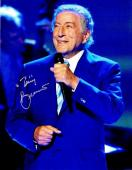 Tony Bennett Signed - Autographed Legendary Singer - Songwriter 8x10 inch Photo - Guaranteed to pass PSA or JSA