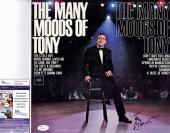 Tony Bennett Signed - Autographed Vinyl Album Cover with Album - JSA Certificate of Authenticity