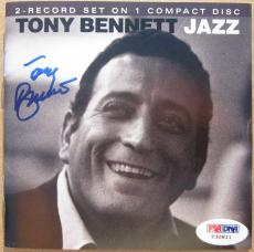 Tony Bennett signed CD Cover Booklet Jazz PSA/DNA auto