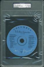 Tony Bennett Signed Christmas Album Cd Autographed PSA/DNA Slabbed