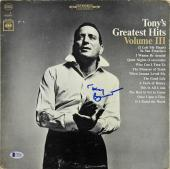 Tony Bennett Signed Greatest Hits Vol III Album Cover BAS #C63101