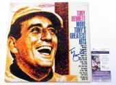 Tony Bennett Signed LP Record Album More Tony's Greatest Hits w/ JSA AUTO