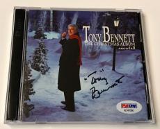 Tony Bennett The Christmas Album Snowfall Signed Autograph CD PSA/DNA COA