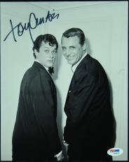 Tony Curtis Autographed Picture - 8x10 PSA DNA)