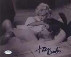 Tony Curtis Signed Autographed Some Like It Hot Photo Jsa Coa Marilyn Monroe