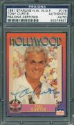 Tony Curtis Signed Trading Card Some Like It Hot Psa/dna Encapsulated 83376697