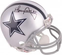 Tony Dorsett Dallas Cowboys Autographed Riddell Mini Helmet - Mounted Memories