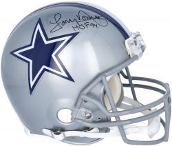 Tony Dorsett Signed Helmet - Pro Line Riddell Authentic Mounted Memories
