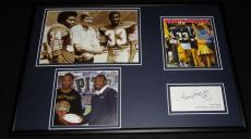 Tony Dorsett Facsimile Signed Framed 12x18 Photo Display Pitt Panthers