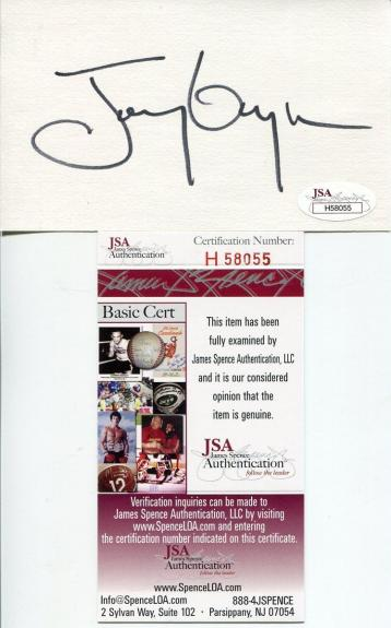 Tony Gwynn San Diego Padres HOF Rare Signed Autograph JSA